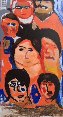 Faces in a Crowd - Joan Clews